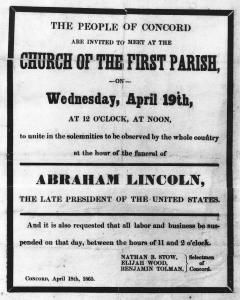 Lincoln Service in Concord
